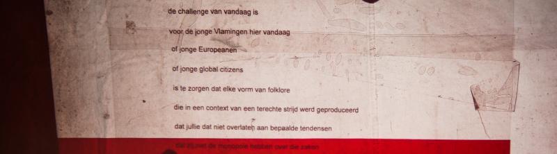RYSWYCK: De Schelde Gesprekken en de Vlaamse identiteit